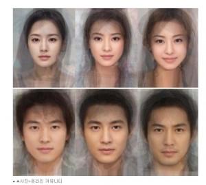 日本、中国、韓国の美男・美女