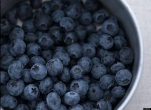 blueberries ブルーベリー
